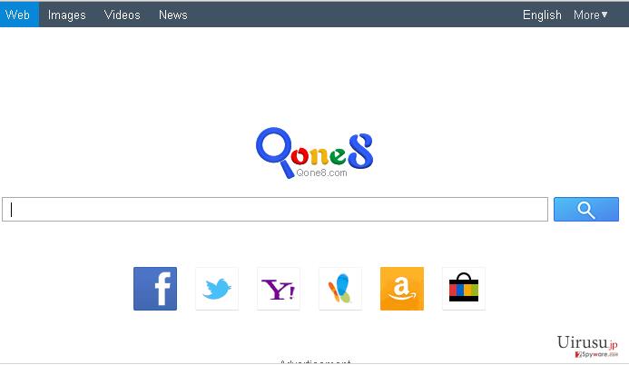 Qone8.comのスクリーンキャプチャ
