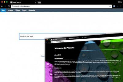 Search.pikatika.com スパイウェア