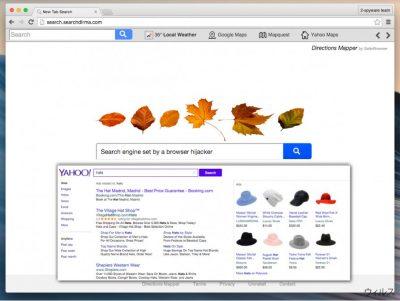 Search.searchdirma.com リダイレクト・ウィルス
