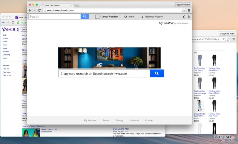 Search.searchmwio.com virus