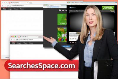SearchesSpace.com ウィルス