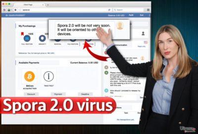 Spora 2.0 ウィルス