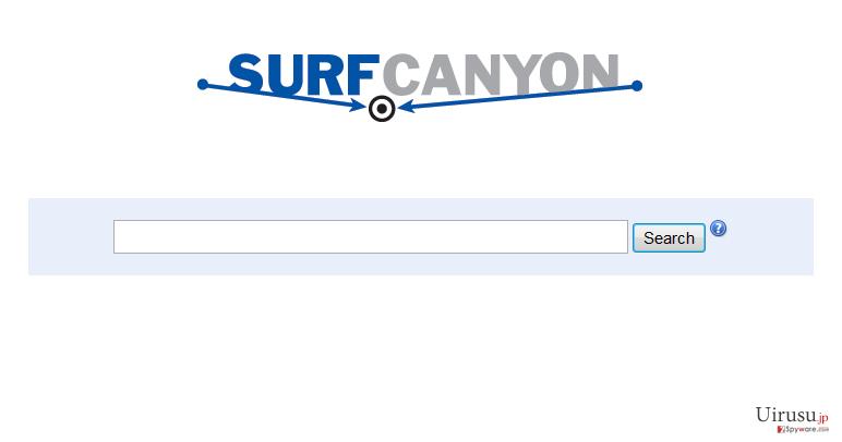 Surf Canyonのスクリーンキャプチャ