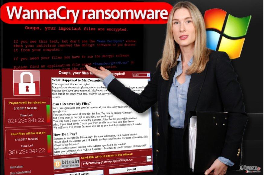 WannaCry ランサムウェア・ウィルス