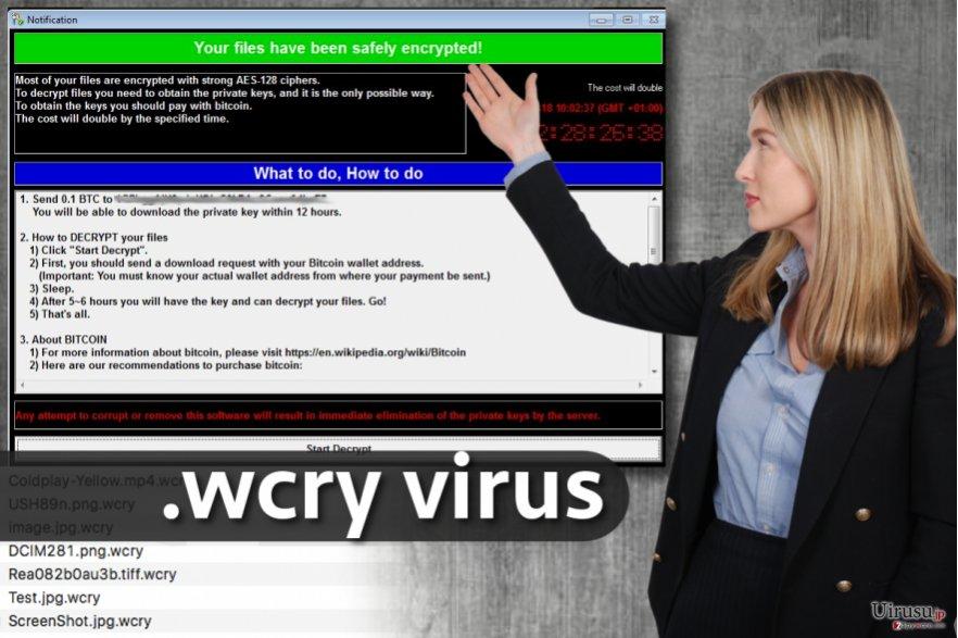 .wcry ファイル拡張子ウィルス