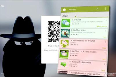 WeChat ウィルス