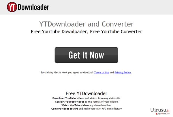 YTDownloaderのスクリーンキャプチャ